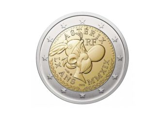 Asteriks na novčiću od 2 eura