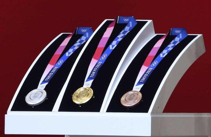 Olimpijske medalje za 2020. napravljene od recikliranih telefona