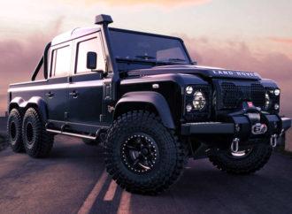 Black Mamba – Land Rover koji osvaja sve terene