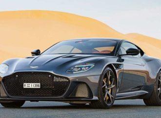 Aston Martin DBS Superleggera sa potpisom Danijela Krega
