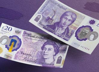Banka Engleske predstavila novu novčanicu od polimera
