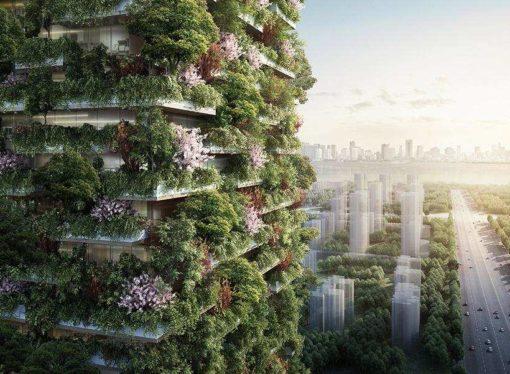 Neboder prekriven biljkama: Arhitekta predstavio planove za zgradu budućnosti