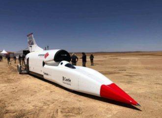 Najbrži automobil svijeta koji pokreće avionski motor