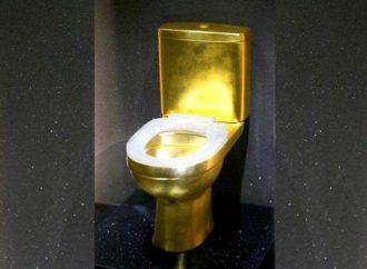 Zlatni toalet sa dijamantima vrijedan 1,3 miliona dolara