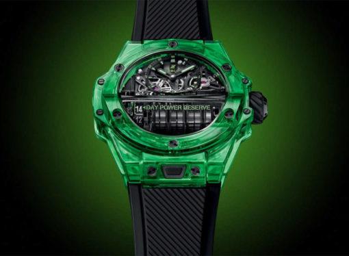 Smaragdni Hublot model koji ostavlja bez daha