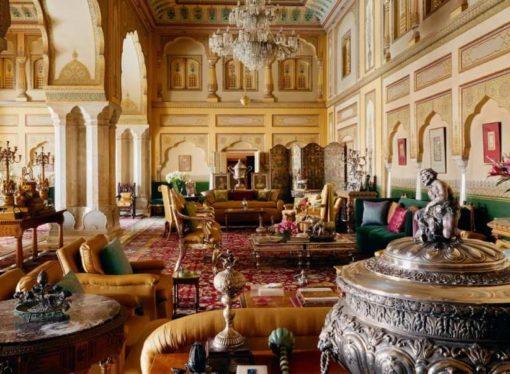 Odsjednite u apartmanu u kraljevskoj palati Radžastana