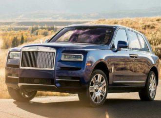 Rolls Royce predstavlja Cullinan Black Badge model