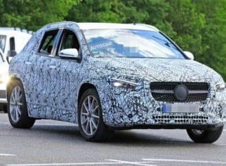 Mercedes GLA na korak od premijere