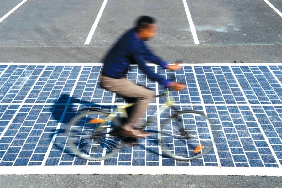 Prva solarna staza za bicikle
